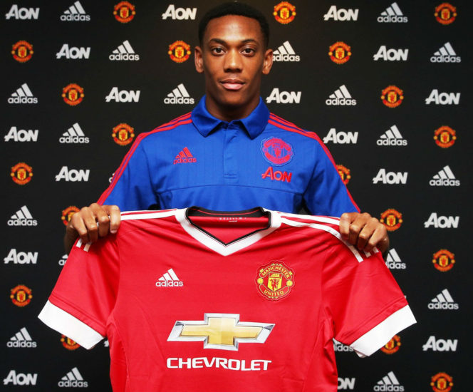 Van Gaal Delighted With Anthony Martial Capture