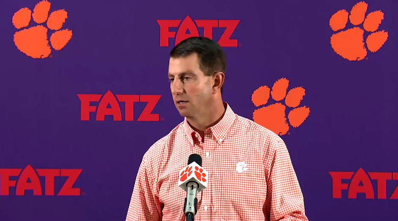 Clemson Coach: Ohio State Shouldn't Make College Football Playoff
