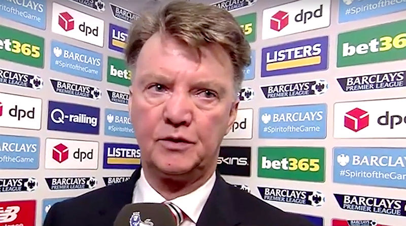 Louis van Gaal of Manchester United to be sacked?