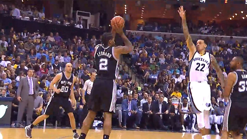 Spurs Dominate Grizzlies 116-95, Sweeping Their Way Into Semis