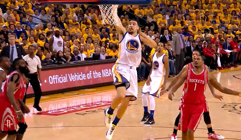 Play Thompson of Golden State Warriors