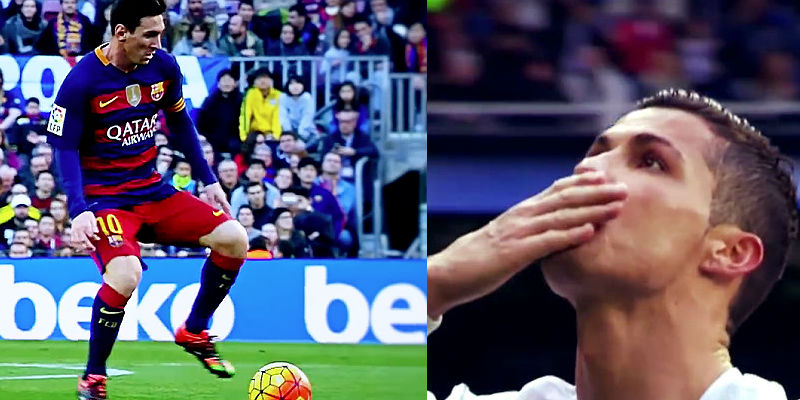 Watch Barcelona v Real Madrid El Clasico: Not About Mess v CR7