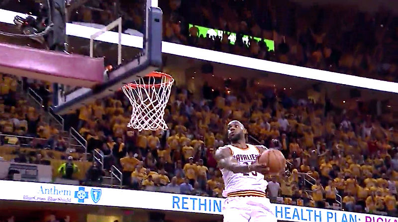 James, Irving Guide Cavaliers Past Warriors, 120-90