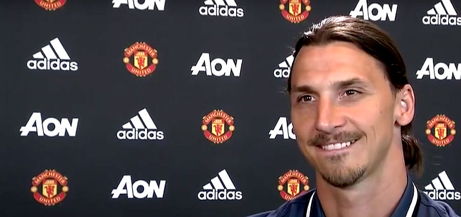 Manchester United Releases Squad Number; What Will Zlatan Wear?