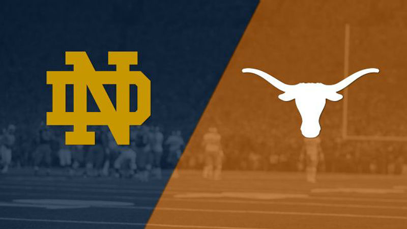 How To Watch: Texas 50 Beats #10 Notre Dame 47 College Football