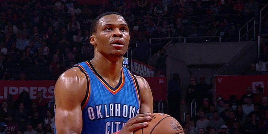 Westbrook Grabs Triple-Double; George Held To 10; Thunder Beat Pacers