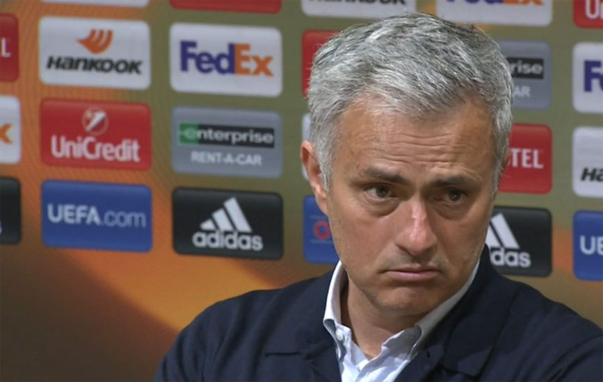 Mourinho Warns He Faces Manchester United Sack