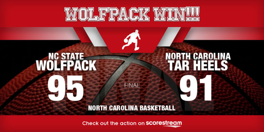 NC State Upsets No. 10 North Carolina In Overtime