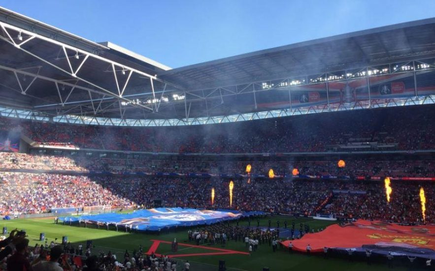 Wembley Stadium FA Cup final: Manchester United
