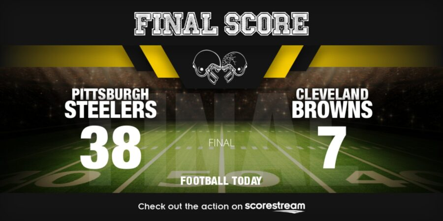 Pittsburgh Steelers Roll Over Cleveland Browns, Improve To 5-0