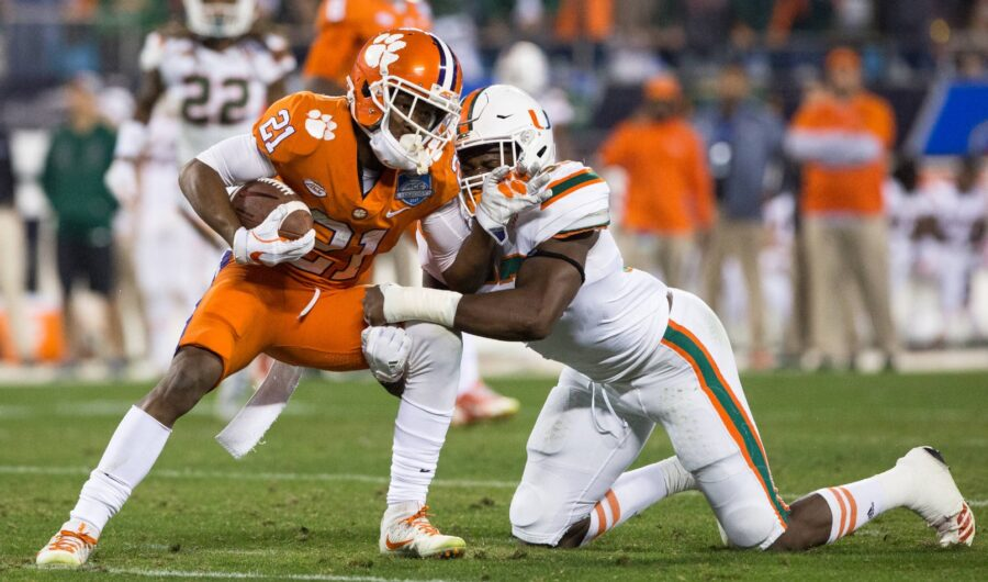 No. 1 Clemson and No. 7 Miami Battle in Death Valley Live On ABC, WatchESPN