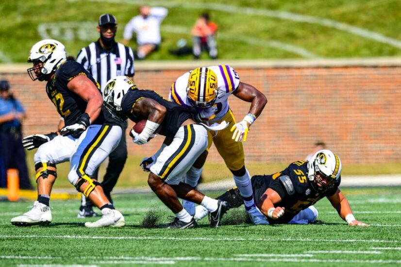 No. 17 LSU Stunned By Missouri, 45-41, In Battle of The Tigers