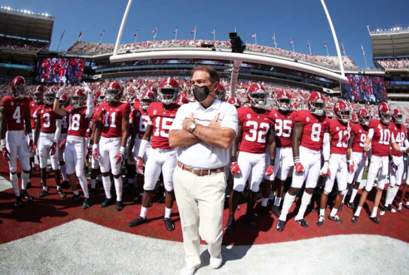 Nick Saban Has Second Straight Negative COVID-19 Test, ESPN Reports