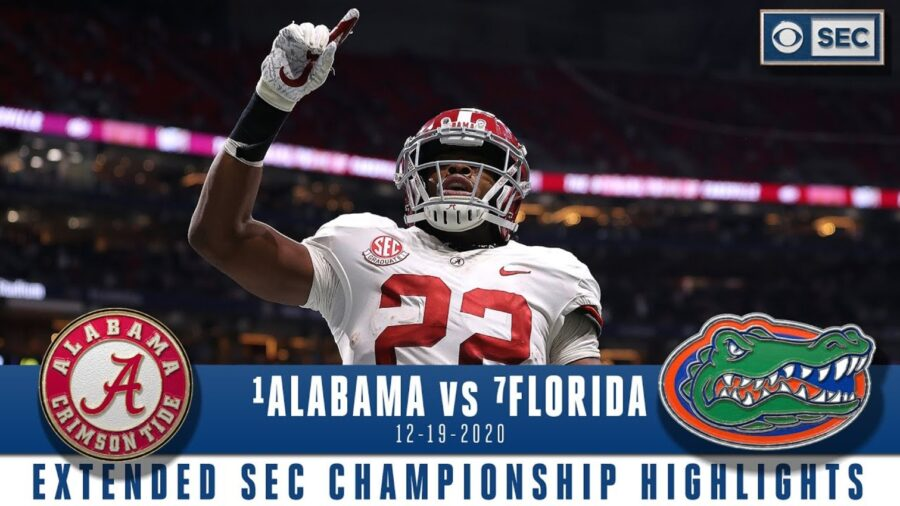 Watch Highlights & Reactions: No. 1 Alabama Holds Of No. 7 Florida In SEC Championship