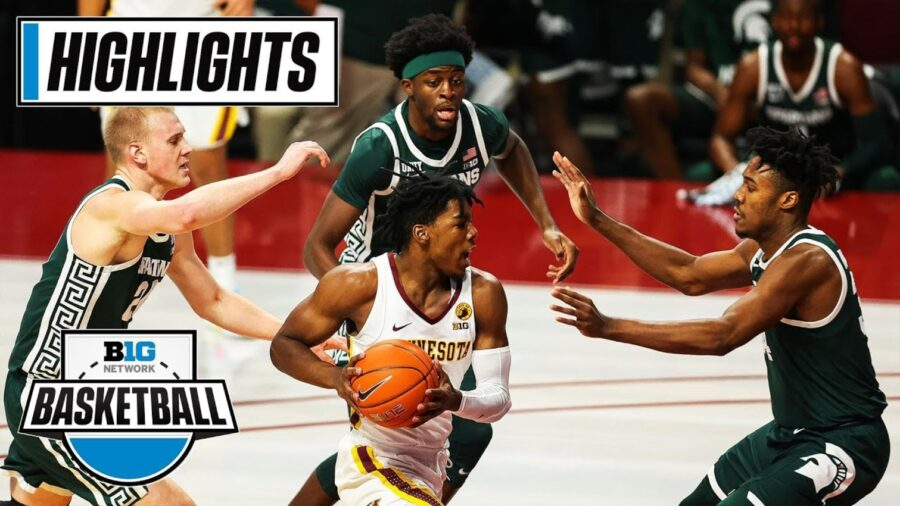 Minnesota Gophers vs. Michigan State Spartans highlights and box score