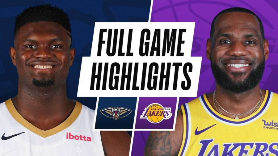 New-Orleans-Pelicans-LA-Lakers-Highlights