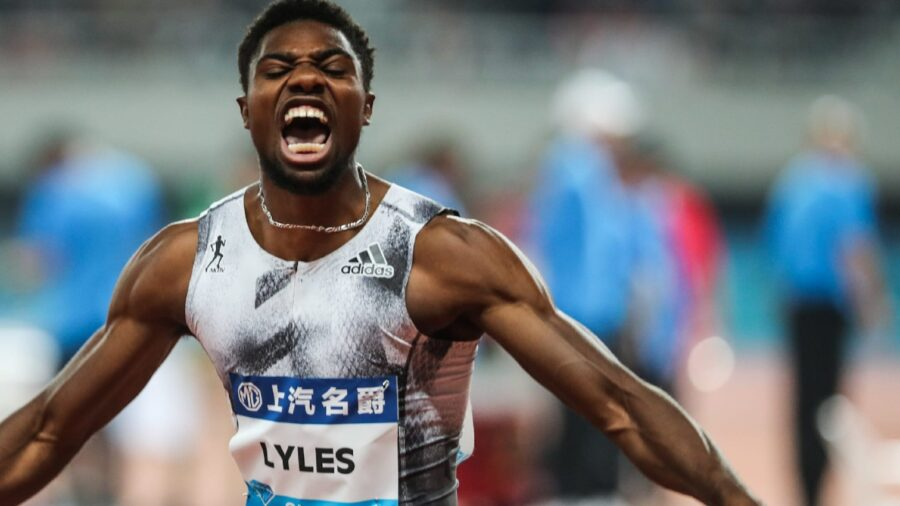 Noah Lyles Qualifiers For 60m Final In Clermont