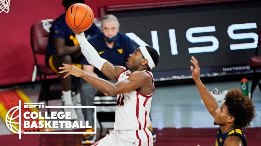 Gibson Hits Eight 3s, Oklahoma Sooners Held Off No. 9 West Virginia: Highlights & Report
