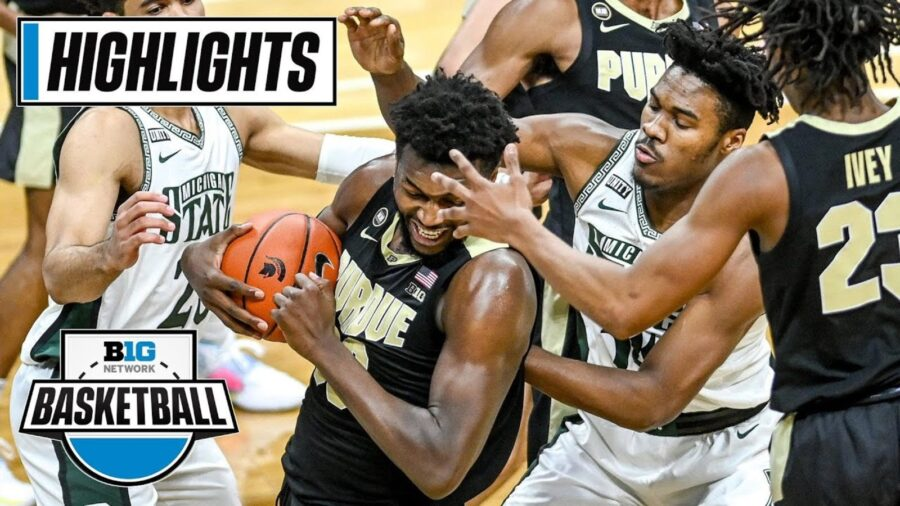 Highlights: Williams Leads Purdue To 55-54 Win Over No. 23 Michigan State