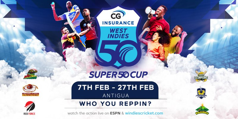How To Watch Every Cricket West Indies Regional Super50 Games