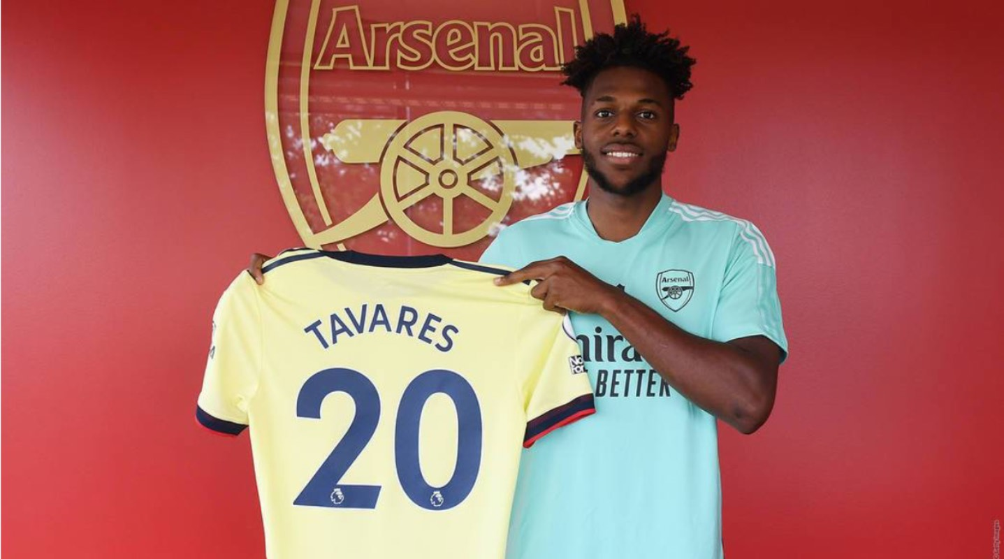 Arsenal signs defender Nuno Tavares from Benfica