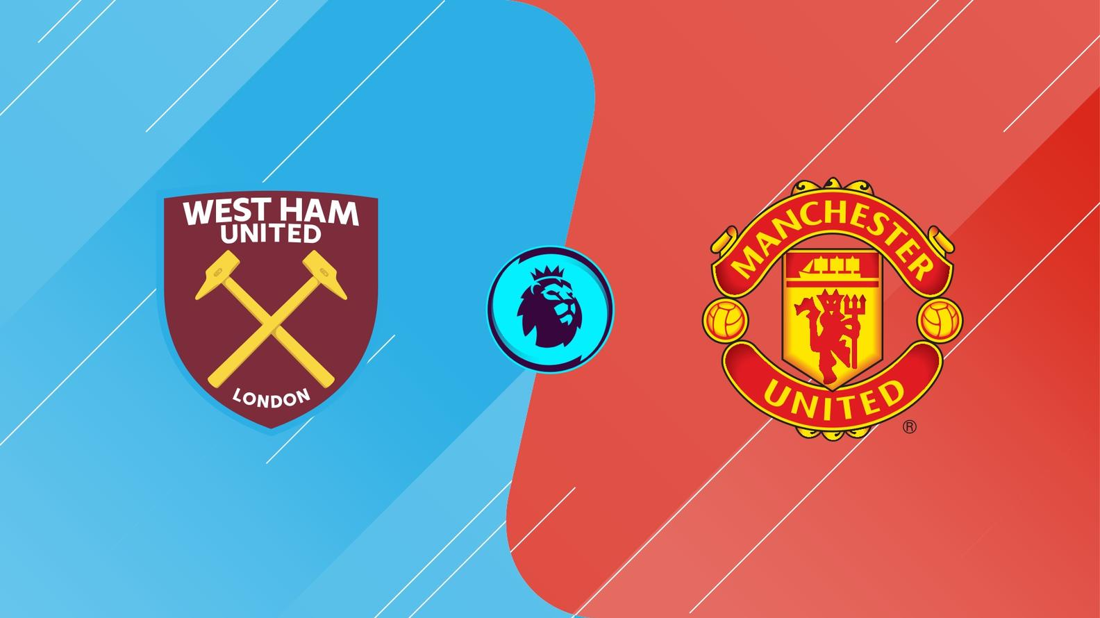 West Ham vs. Manchester United live stream, lineups, TV channels
