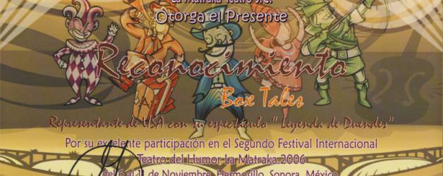 Excelente Participación 2006
