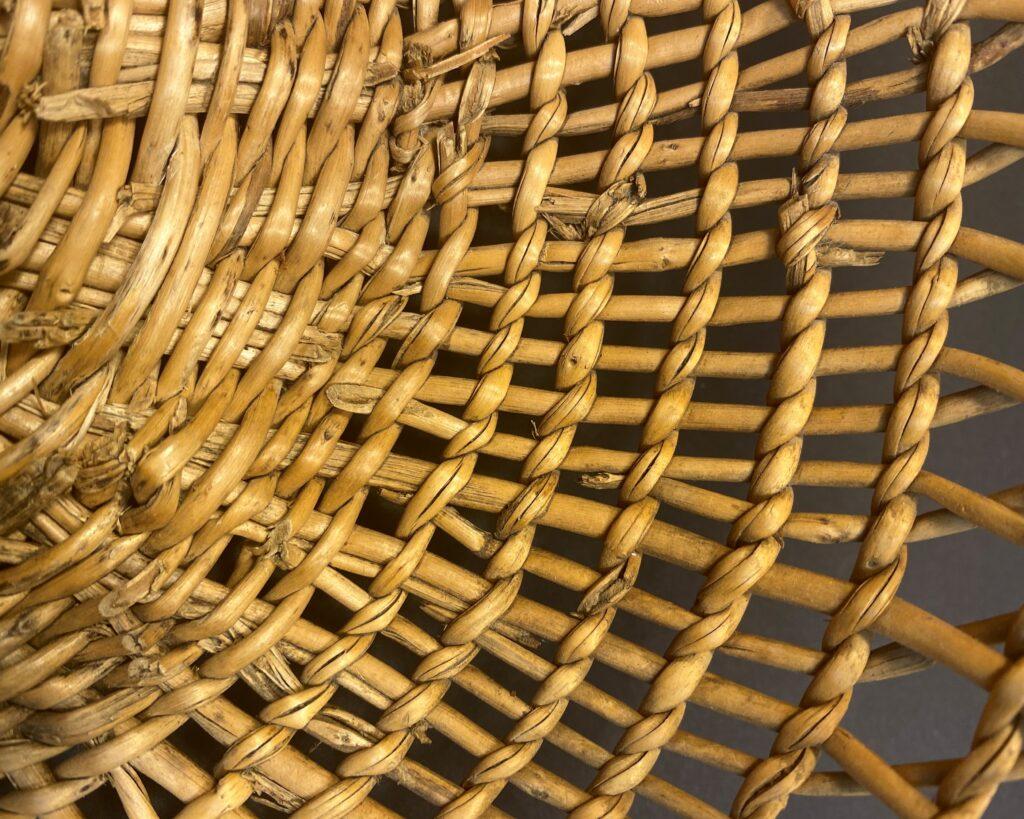 Clam Basket Weaving