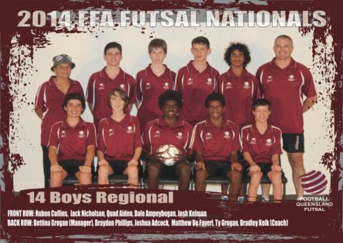 Z-14 Boys Regional 2014-2