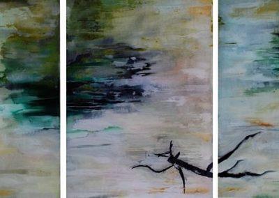 Flow II – Triptych