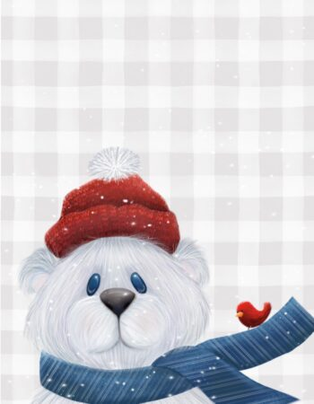 Plaid Buddy Bear