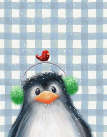 Plaid Buddy Penguin