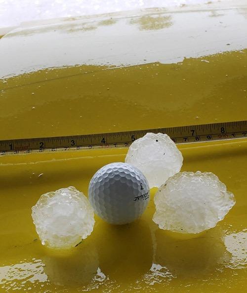 hail storm roof damage insurance claim adjuster in Florida