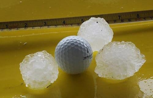 hailstorm drops golf ball-sized hail on Brevard County