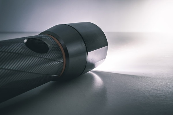 Flashlight used in a power outtage