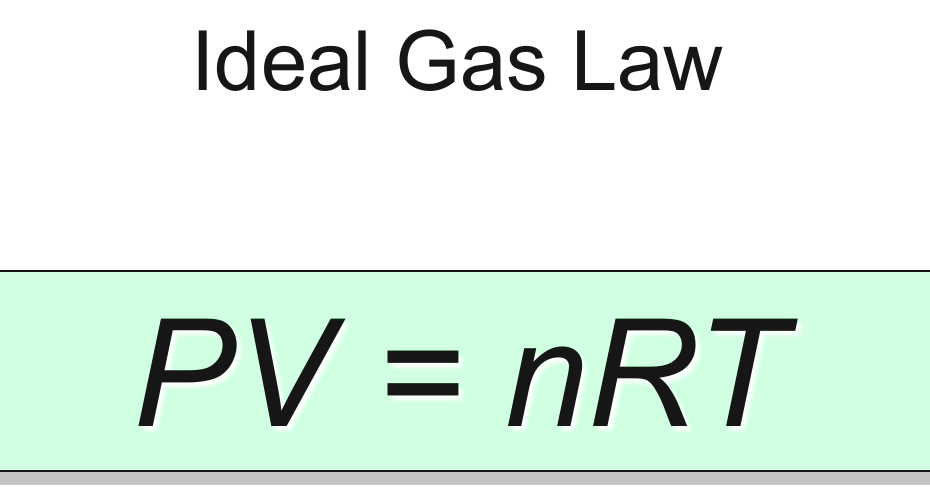 Ideal Gas Law-Equation