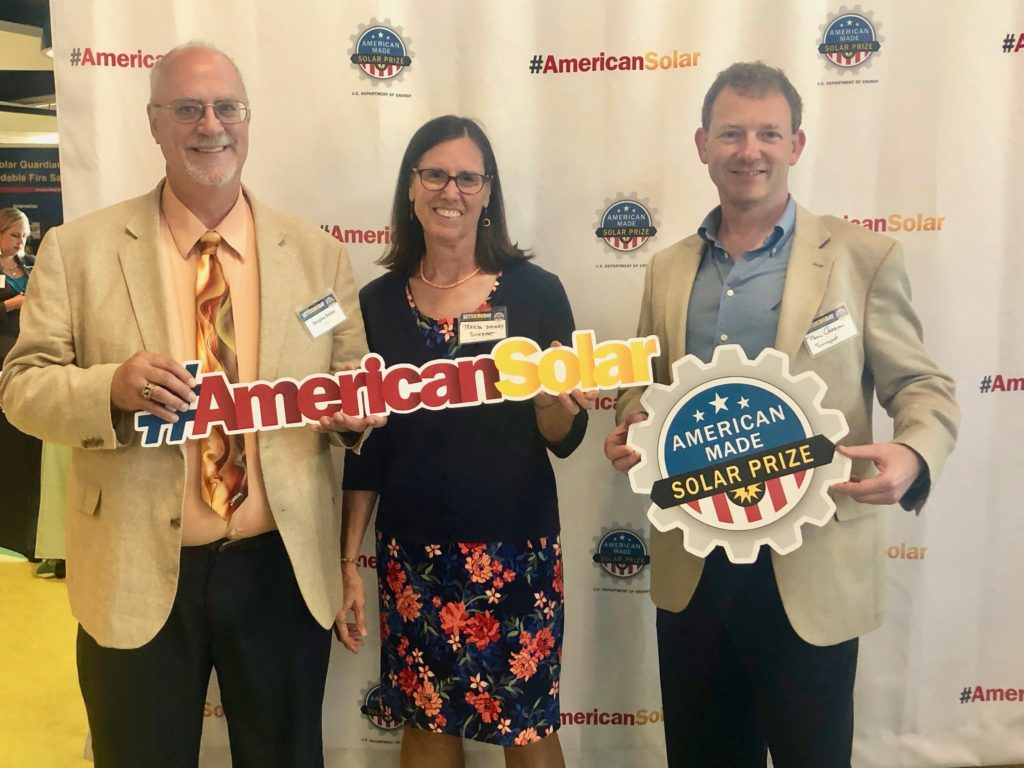 Team SunSpot at American Made Solar competition