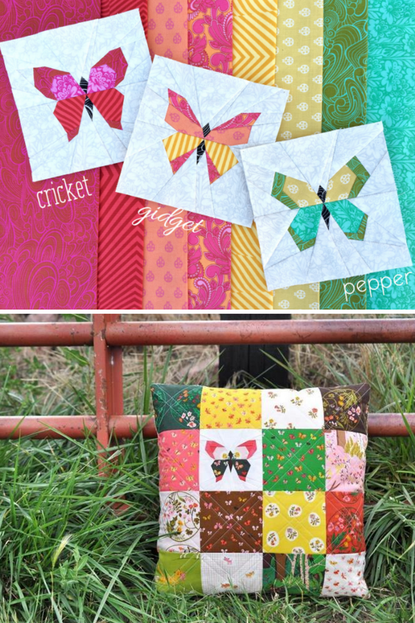 Charming Butterfly Quilt Block | Free Pattern