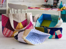 Learn how to transform your scraps into something fun and function. Caroline Fairbanks-Critchfield shows you time saving techniques that will have you making patchwork bags and baskets in almost every size under the sun!
