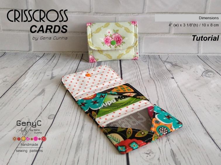Crisscross Cards Wallet