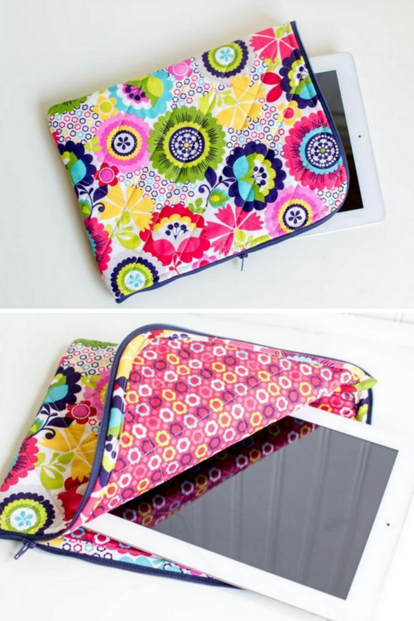 Quilted IPad Case Free Pattern