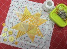 Star Quilt Block Free Pattern