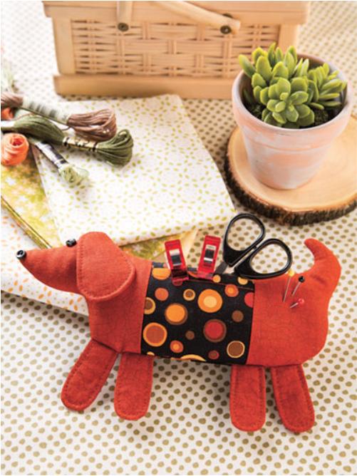 Pincushion Patterns Book Dog