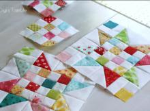 Patchwork Quilt Block   Free Pattern