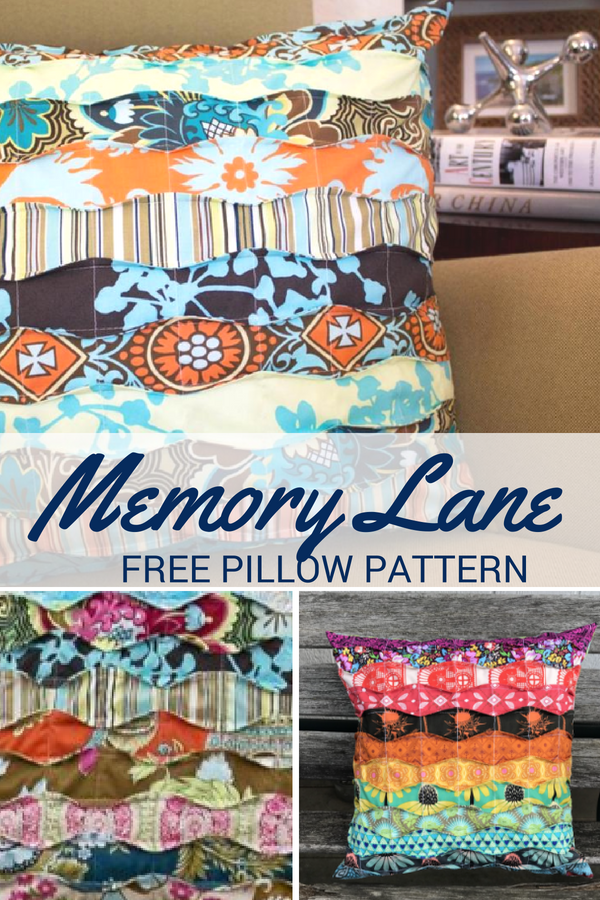 It's time to kick back and relax with the sweet memories pillow. This pattern is easy to make, uses scraps and is free!
