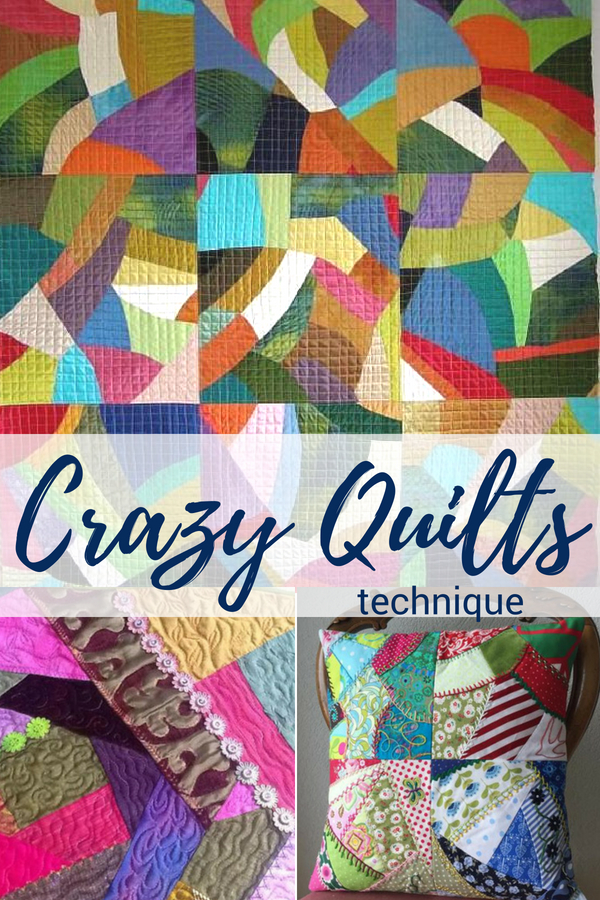 Easy Crazy Quilting Technique | Video Learning