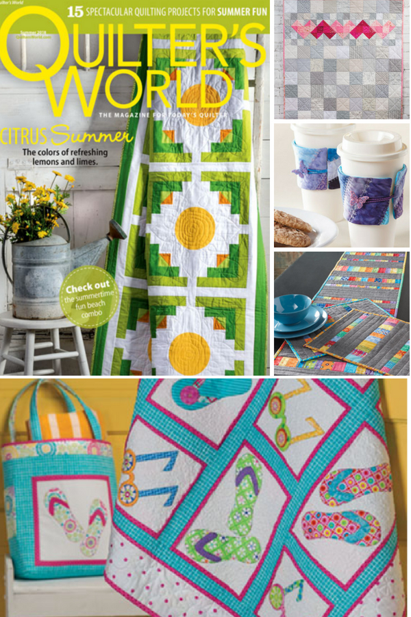 Summer Sewing Patterns | Quilter's World 2018