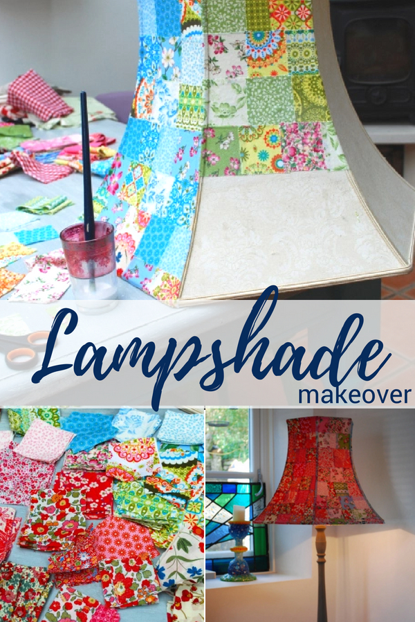 DIY Whimsical Lampshade Makeover