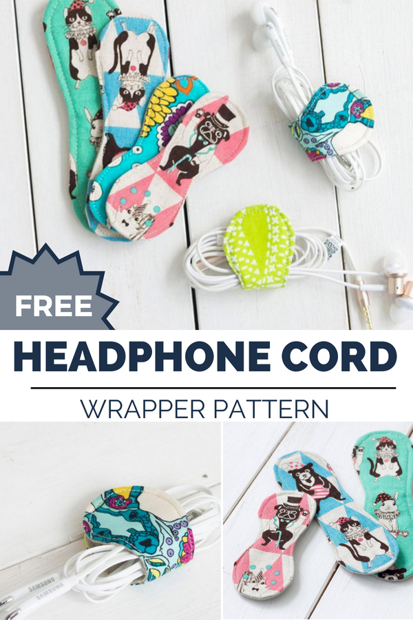Keep all of your gadgets in check with this easy to make cord keeper. Free Pattern