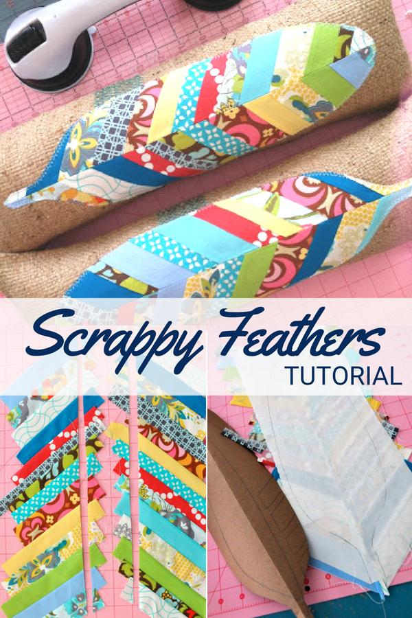 Scrap Feather Tutorial